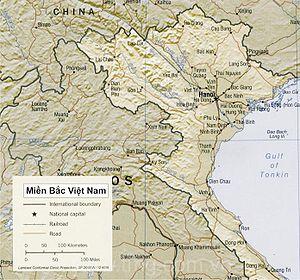 Các tỉnh thuộc ba miền Bắc, Trung, Nam